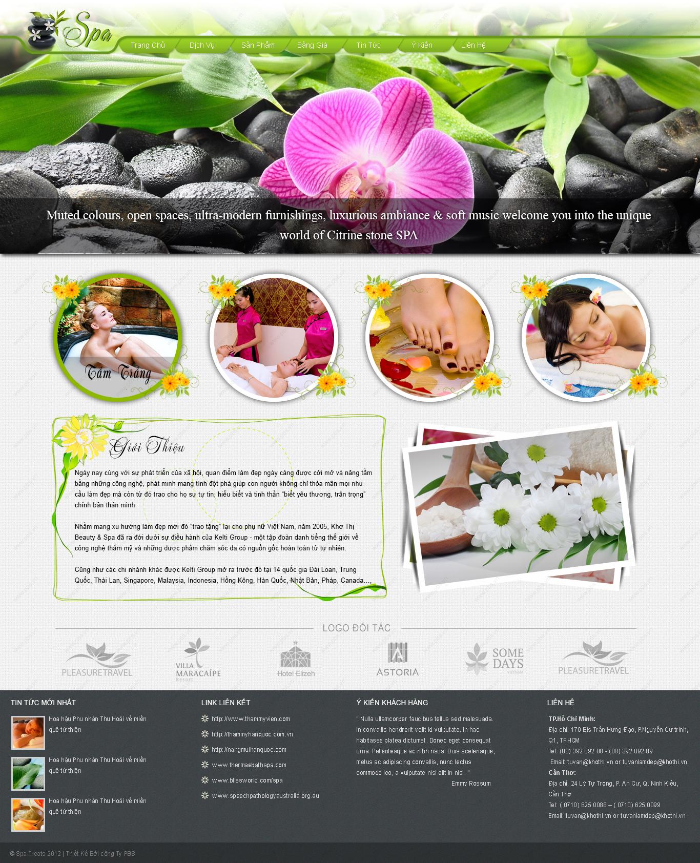 webiste thiết kế phối màu phong thủy
